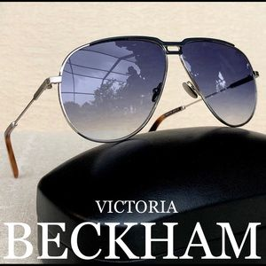 💯 VICTORIA BACKHAM 64mm Aviator sunglasses